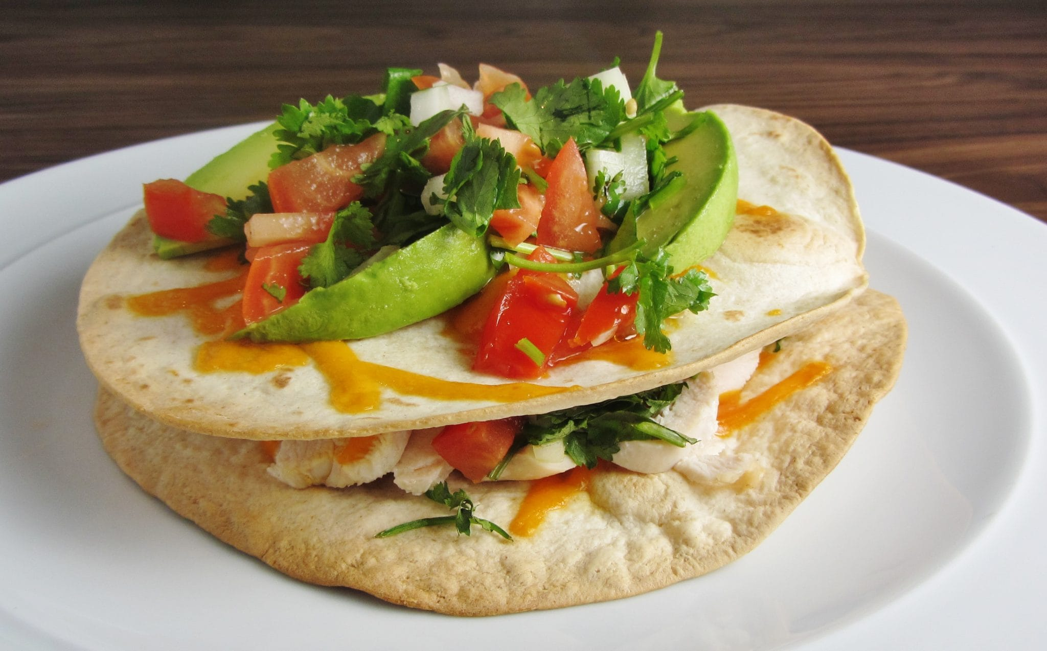 Chicken Tostadas with Pico de Gallo - Searching for Spice