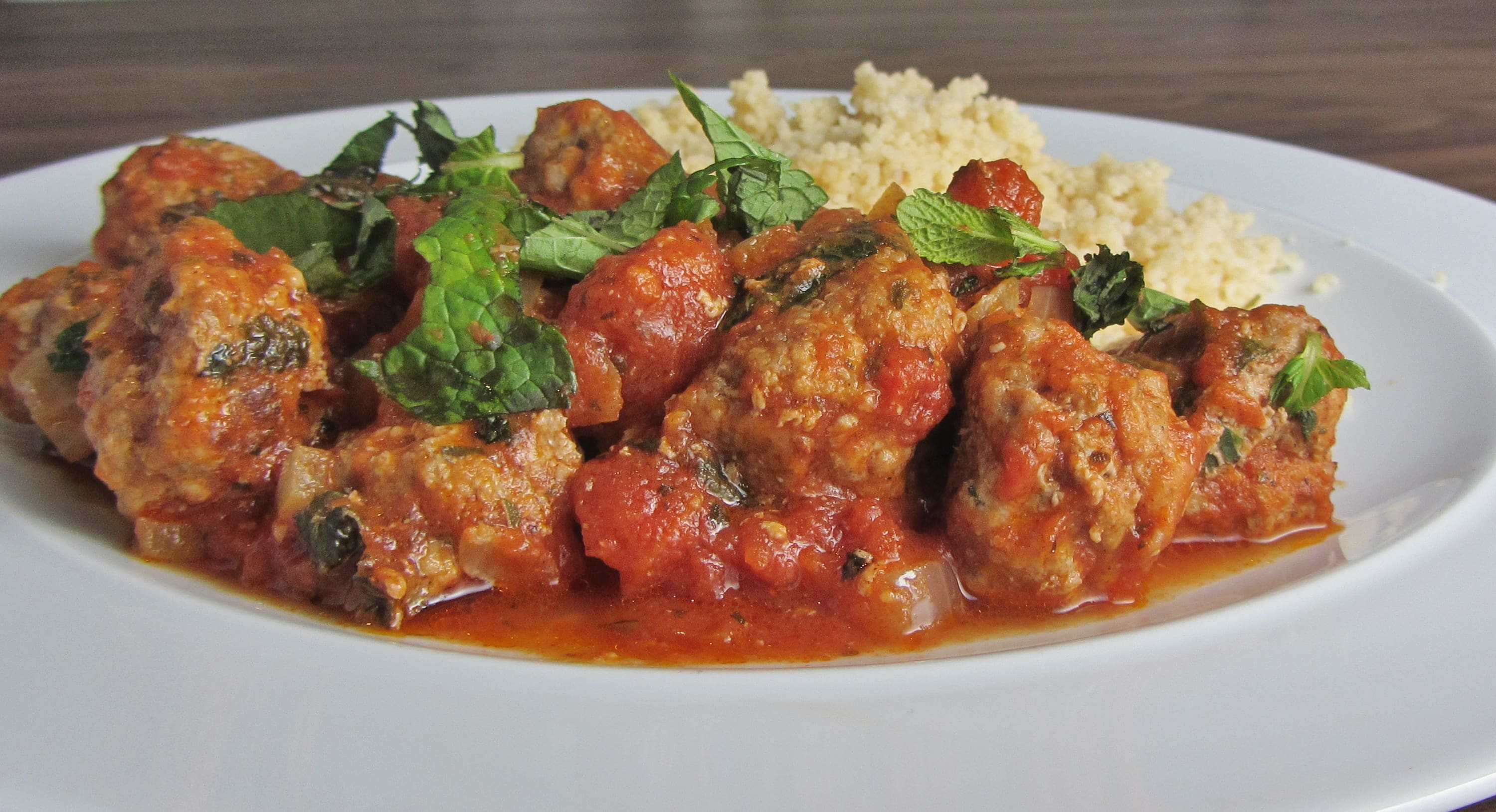 Mint and Lamb Meatballs - Searching for Spice