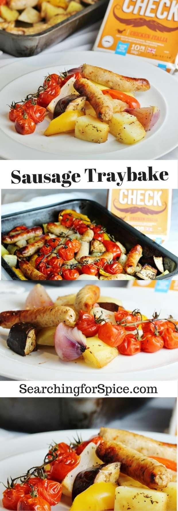 sausage-traybake