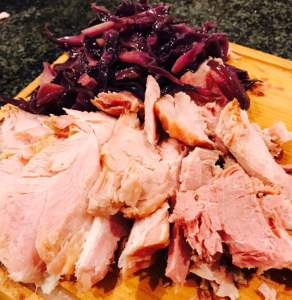 gammon-and-red-cabbage