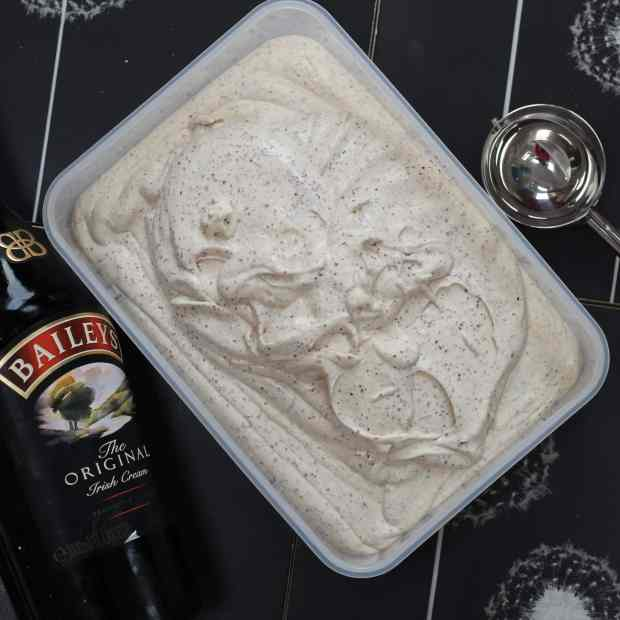 Bailey's ice cream Cook Once Eat Twice May 2017