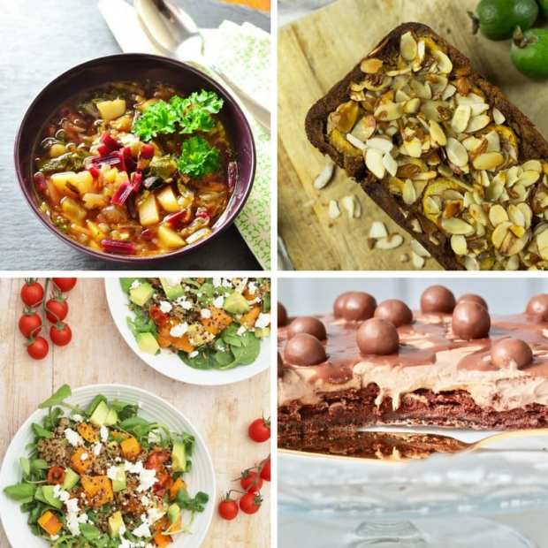 Cook Once Eat Twice June and May recipe round up