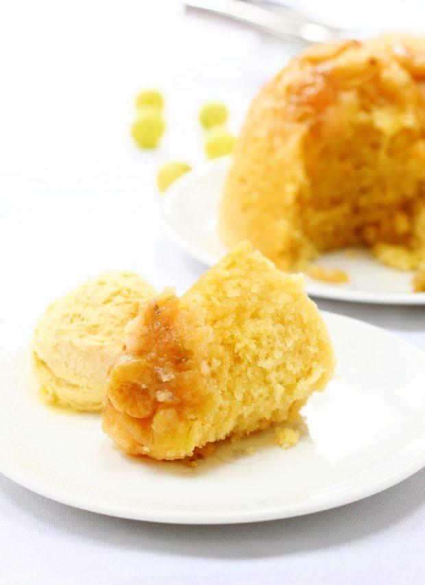 how to make steamed sponge pudding
