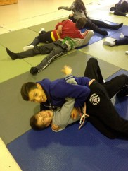 Judo in gym class!