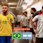 Brazil VS Argentina Copa America 2021 Final Match Schedule (Date & Time Bangladesh)