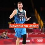 Slovenia vs Japan Basketball Live Streaming | Tokyo Olympics 2020 Watch Online TV Channel
