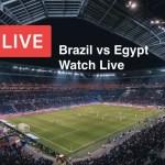 Brazil vs Egypt Watch Live 2021 TV Channel List & Score Updates in Tokyo Olympics