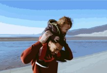 Father carrying his son - Getting Into Isaiah 49 Through Nephi 21