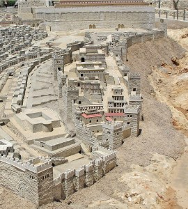 Biblical City of David in the period of Herod's Temple