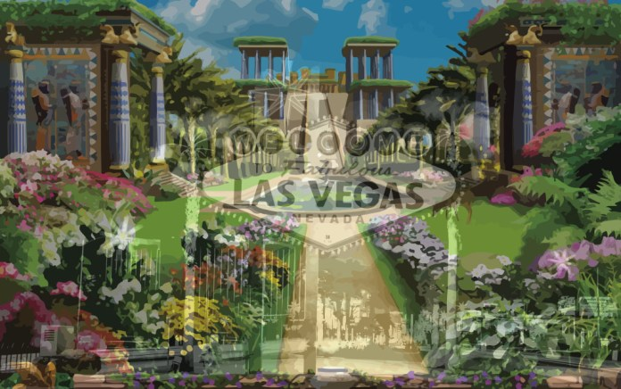 2 Nephi 23 / Isaiah 13 - Babylon Gardens & The Las Vegas Strip - Search Isaiah