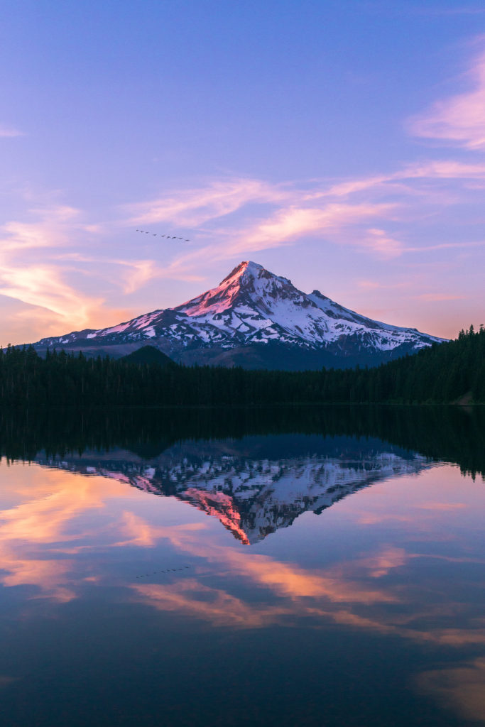 Nature is the reflection of God, the revelation of God in the world around us. God revealed in the beauty of His creation around us. This picture was taken at Lost Lake in Oregon of Mount Hood.