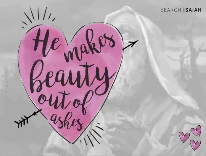 Isaiah 61:10 valentines day ideas for that special someone