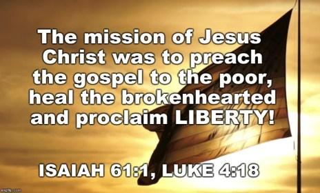 Isaiah - Luke flag