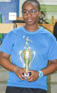 SVG's males dominate inaugural OECS schools' Table Tennis tournament