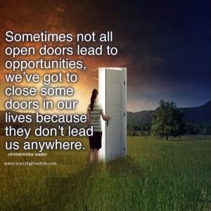 Opeing Door to Success