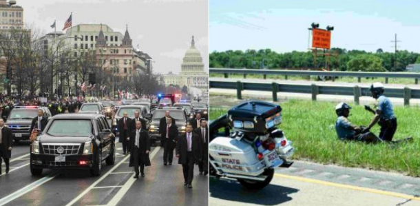 Donald Trump Motorcade Involved in Road Accident