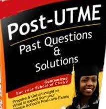 Post-UTME Past Questions & Answers For University And Polytechnic
