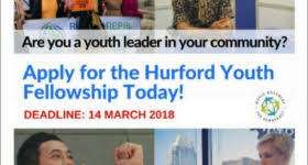 Apply For Fully Funded Hurford Youth Fellowship Program 2019