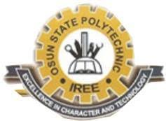 OSPOLY Post-UTME 2019 Cut Off Mark and Registration Details