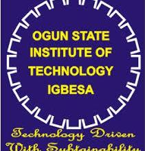 Ogun State Institute of Technology (OGITECH) Post UTME Screening Form For 2019/2020 And Registration Procedure