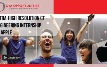 Apply For Engineering Internship (Ultra-High Resolution CT) at Apple, USA