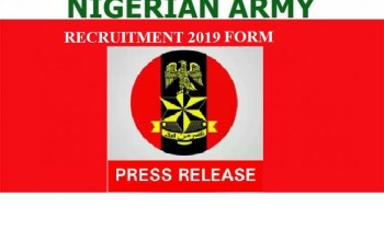 Nigerian Army DSSC Recruitment 2019 Application Open