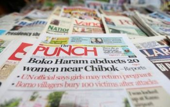 Nigerian Newspapers Headlines Today 29th December 2020