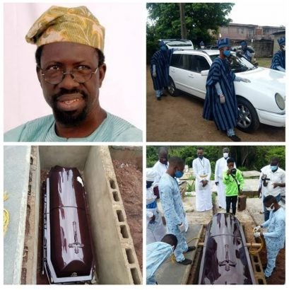 Pa Kasumu is dead and has been finally laid to rest yesterday