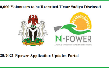 Npower Portal Set to Open, 400,000 Volunteers to be Recruited - (View Details)