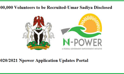 Npower Application Portal Open Go to www.npower.fmhds.gov.ng to Apply