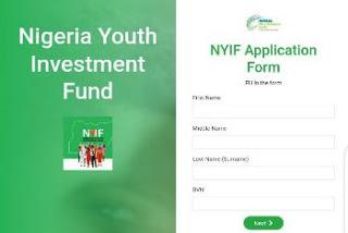 Nigeria Youth Investment Fund (NYIF) Application Portal - www.nyif.nmfb.com.ng