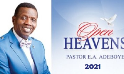 Open Heaven 10 January 2021 RCCG Daily Devotional (Persistent Prayers)