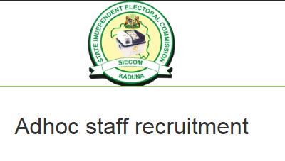 INEC ADHOC Recruitment