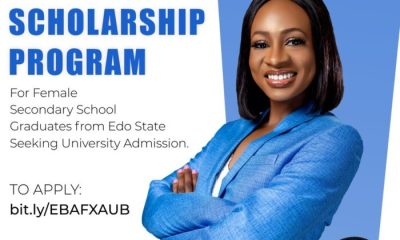 Apply for Edo Babes Are Fly Scholarship Program 2021 for Undergraduates