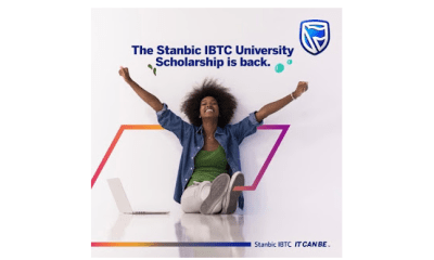 Apply for Stanbic IBTC University Scholarship 2021 (Up to N40 Million Fund)