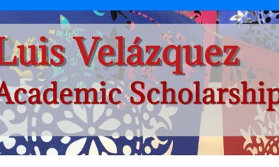 Apply for Luis Velázquez Scholarship 2021 - Up to $