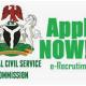 Ebonyi State Civil Service Commission Recruitment 2021 Application Form