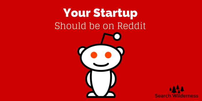 header image: your startup should be marketing on reddit