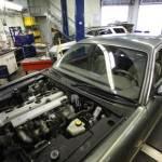 Jaguar mechanic at Searles Auto Repair