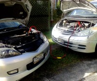 Jumpstart Your Car with Cables