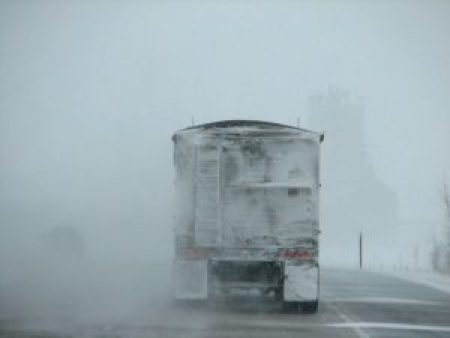 winter visibility driving