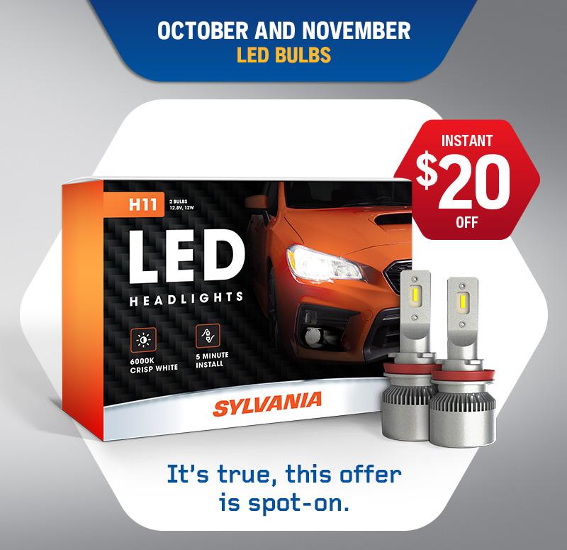 Fall 2021 - Sylvania LED Bulb Promo