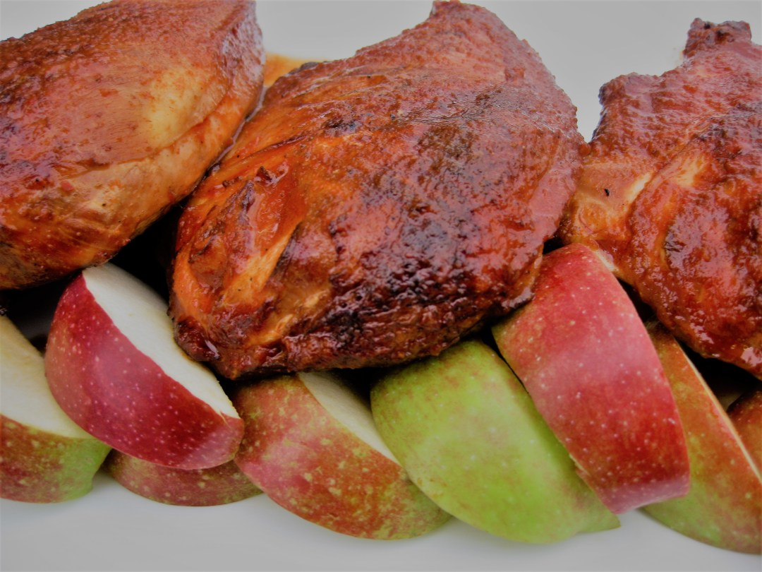 Chicken Breasts, Fall recipes, apple cider reduction