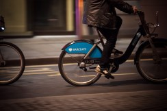 Barclays bike