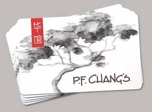 P. F. Chang's Gift Card