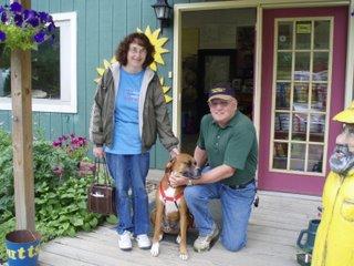Gary & Linda Bring JJ Home