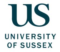 Uni Sussex