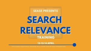 search relevance training