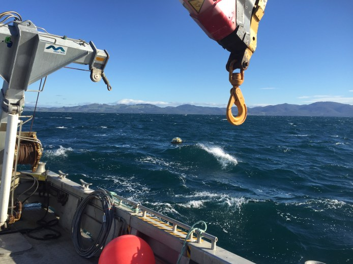 Approaching Mooring For Recovery