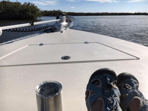boating in january